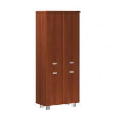 Шкаф широкий высокий четырехдверный без боковых панелей и топа Senat