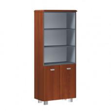 Шкаф широкий высокий комбинированный без боковых панелей и топа Senat