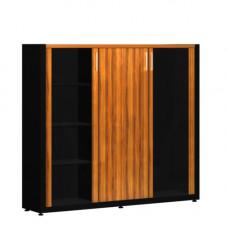 Шкафная секция со стеклом и гардеробом Verona